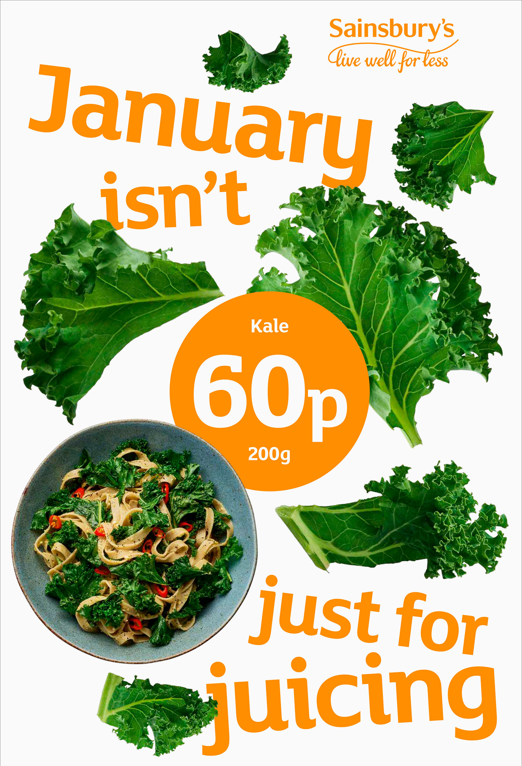 Sainsburys Value Kale | Colin Campbell - Food Photographer