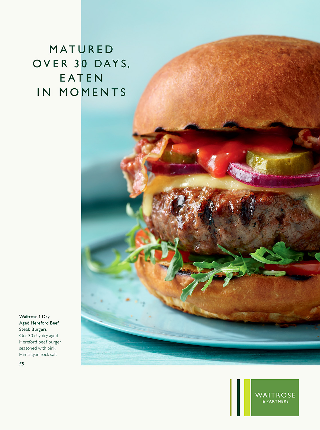 Waitrose Summer Burger - London food photographer