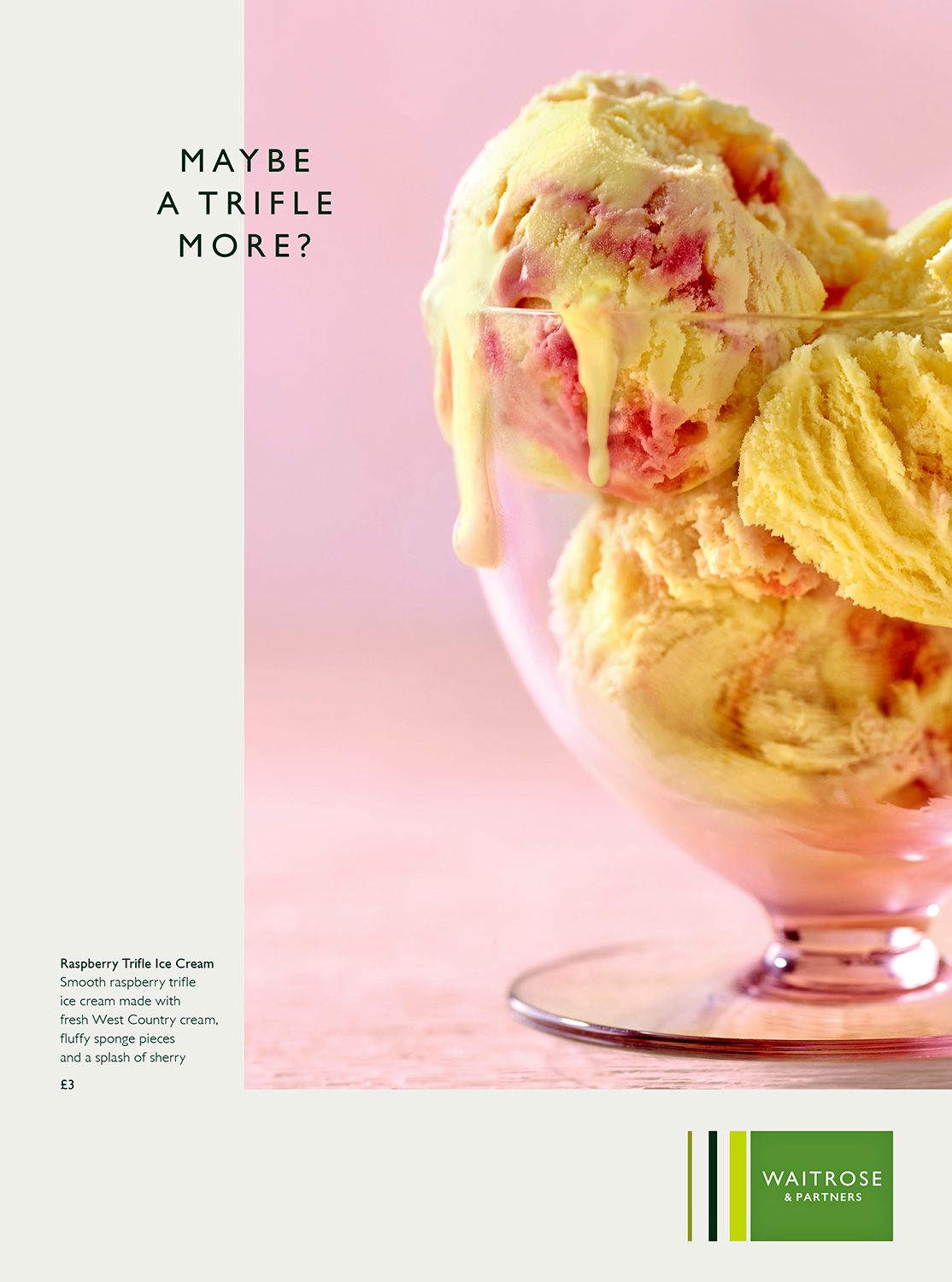 Waitrose summer Ice Cream - London food photographer