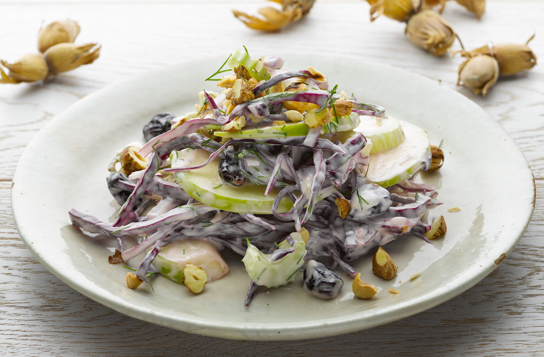 Ottolenghi Waldorf salad | Colin Campbell-Food Photographer