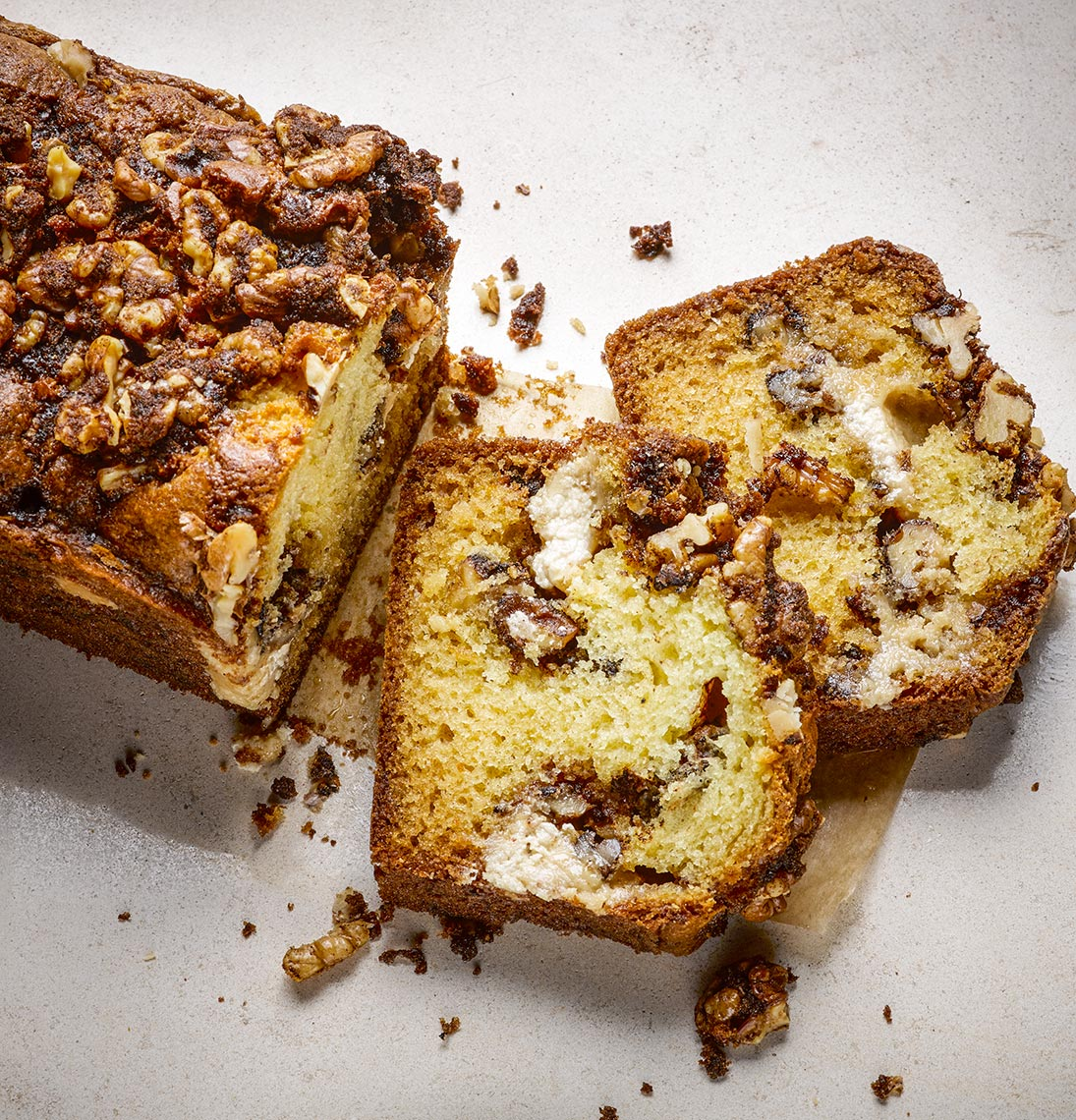 Walnut and Halva-cake | Colin Campbell - Food Photographer