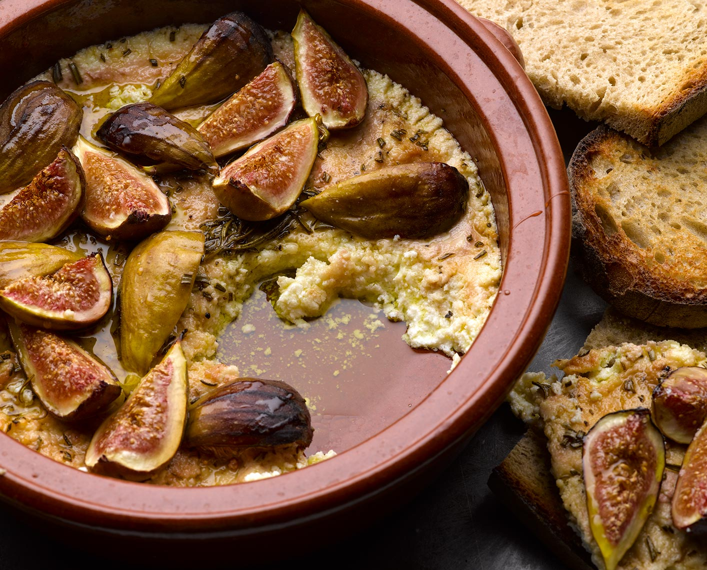 Ottolenghi ricotta and figs | Colin Campbell-Food Photographer